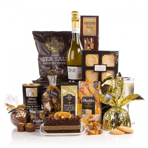 Food and drink gift ideas the Prosecco and food hamper