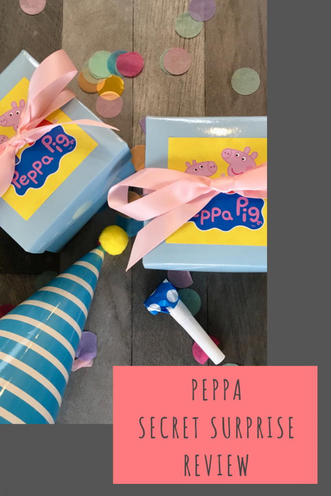 Peppa Secret Surprise review #PeppaPig