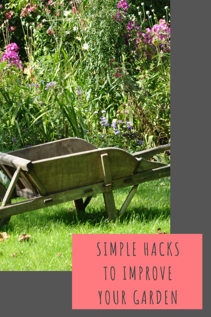 quick and easy hacks you can use to improve the look of your garden #home #gardening
