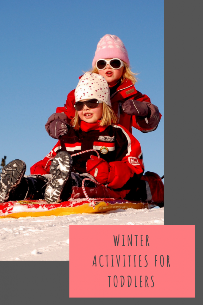 Toddler winter activities