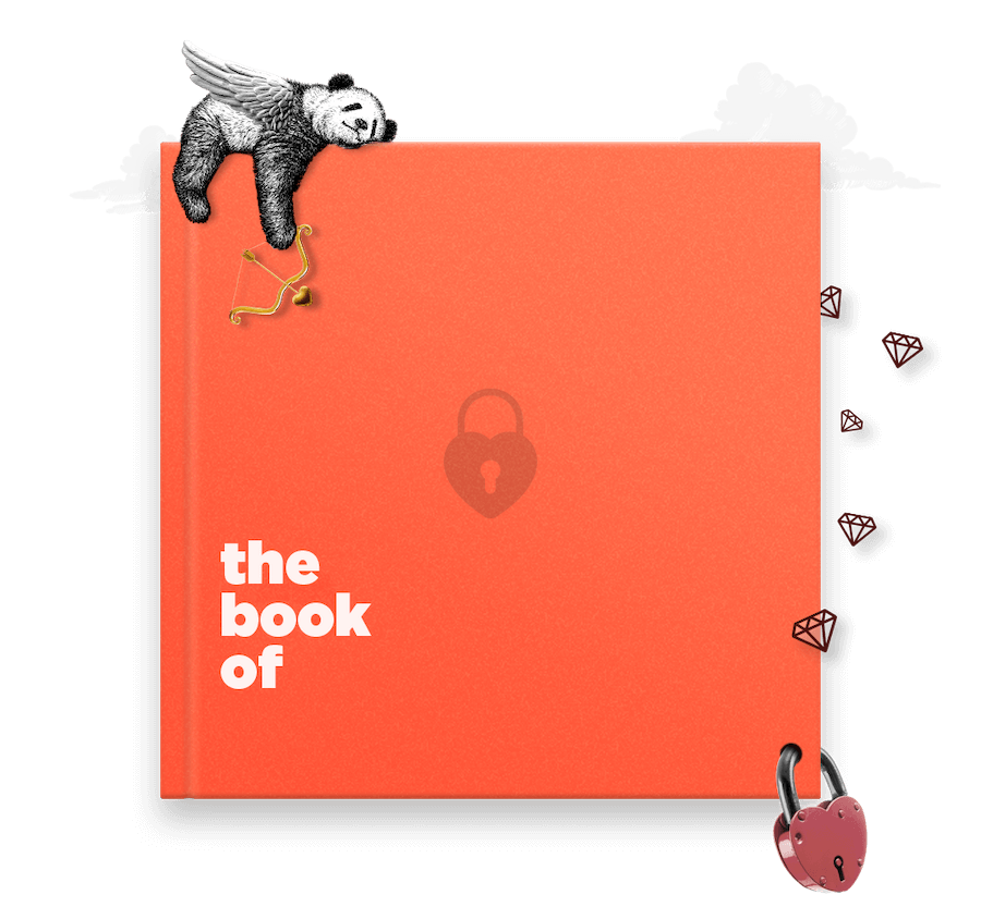Valentines gift ideas book of everyone