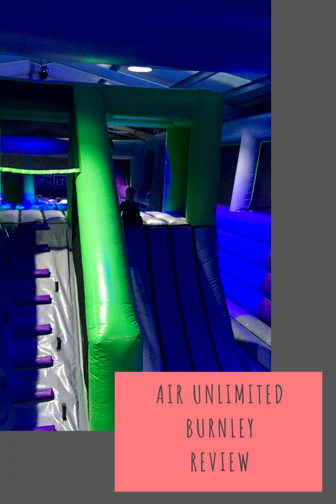 Air Unlimited Burnley review. An inflatable playground in Burnley #airtime