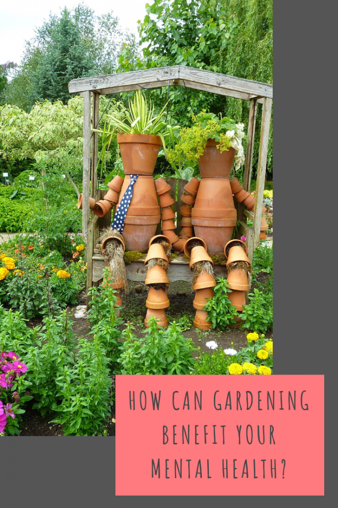 How can gardening benefit your mental health?