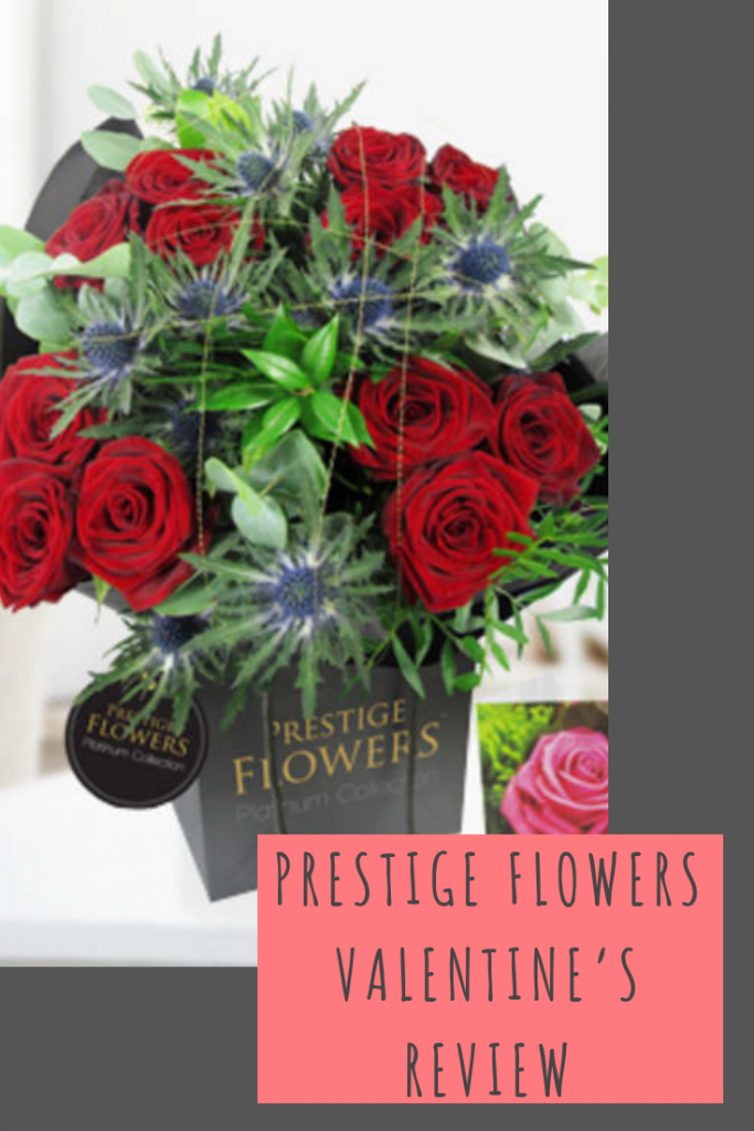 Prestige Flowers Valentine's review