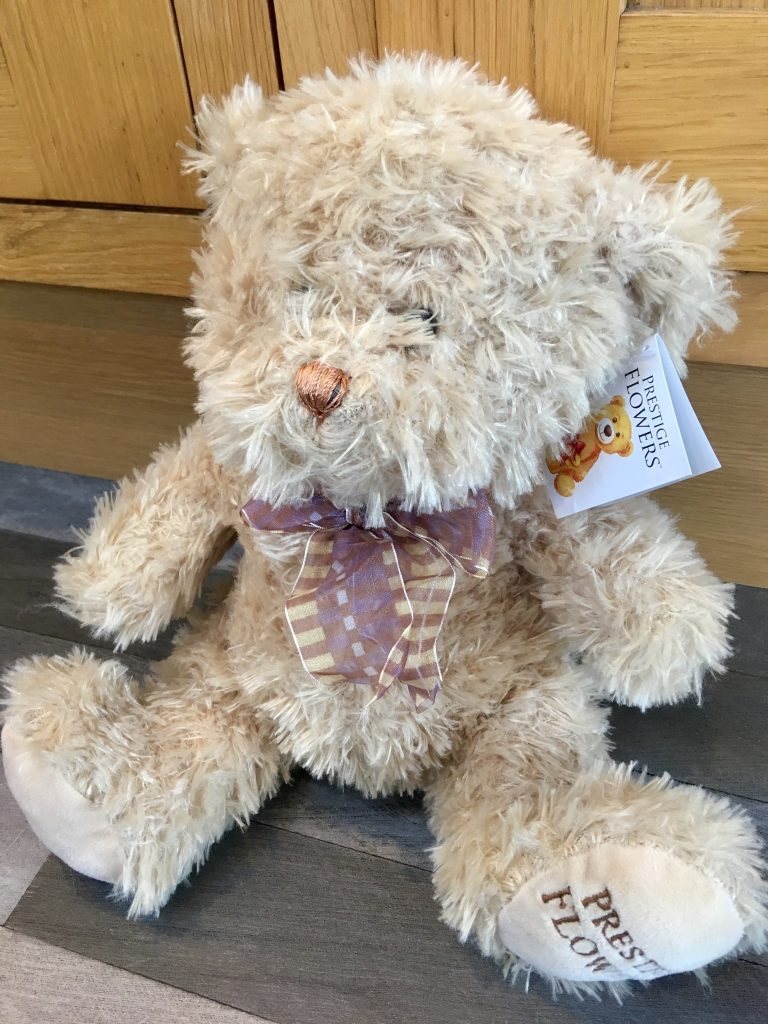 Prestige Flowers Valentine's review Teddy bear
