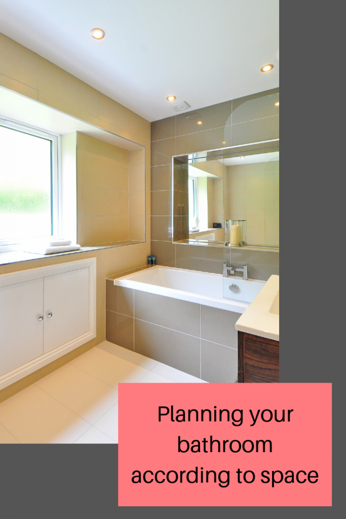 Planning your bathroom and making the most of space #bathroom #home #interiors