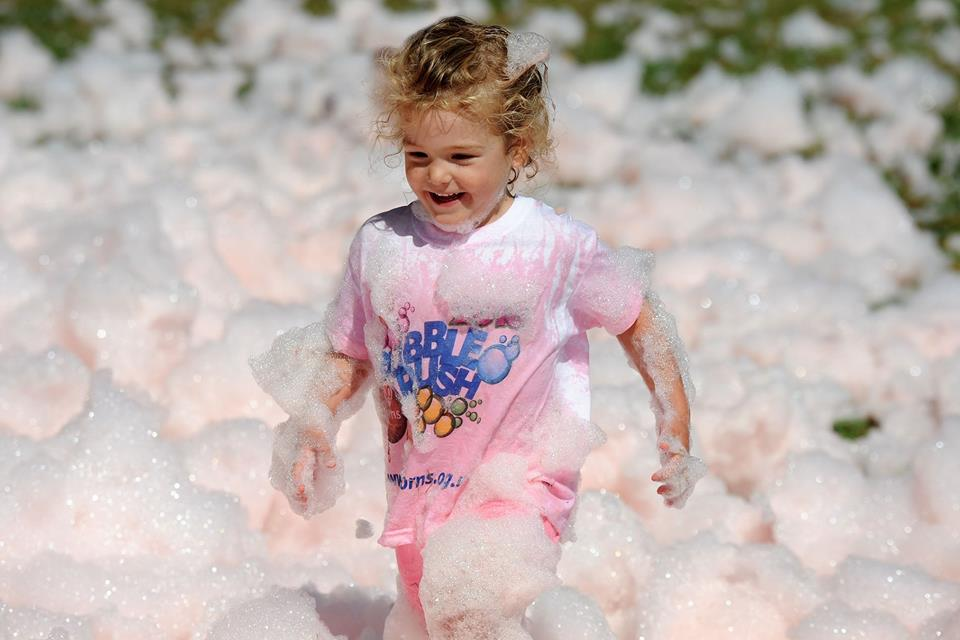 East Lancashire Hospice Bubble Rush