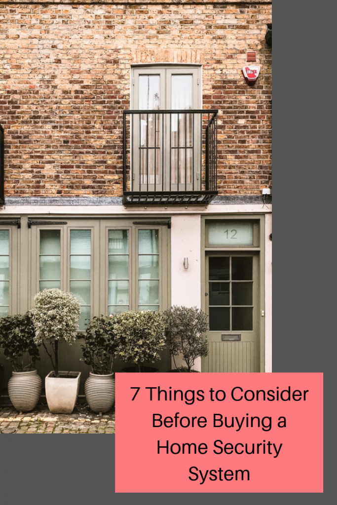 7 Things to Consider Before Buying a Home Security System