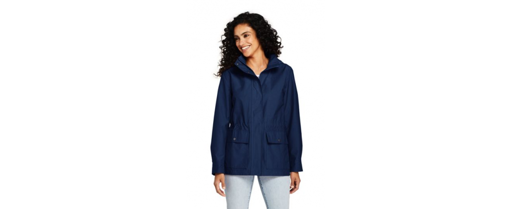 mothers day gift idea land end navy jacket