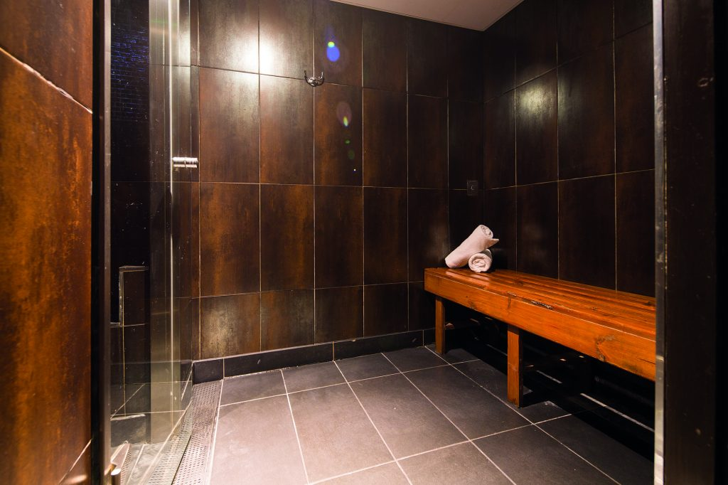 The Club and Spa Chester sauna