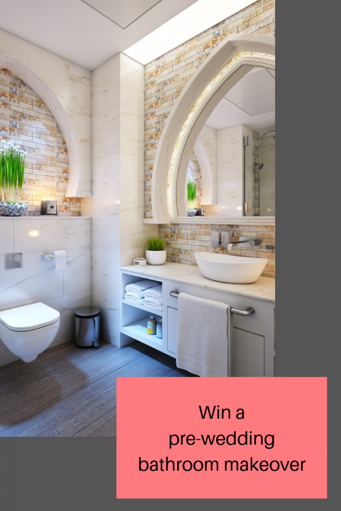 Your chance to win a pre-wedding day bathroom makeover thanks to VictoriaPlum.com