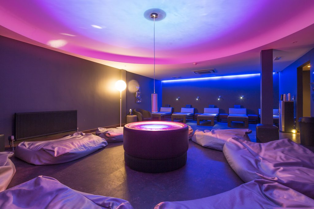 Club and Spa Chester relaxation room