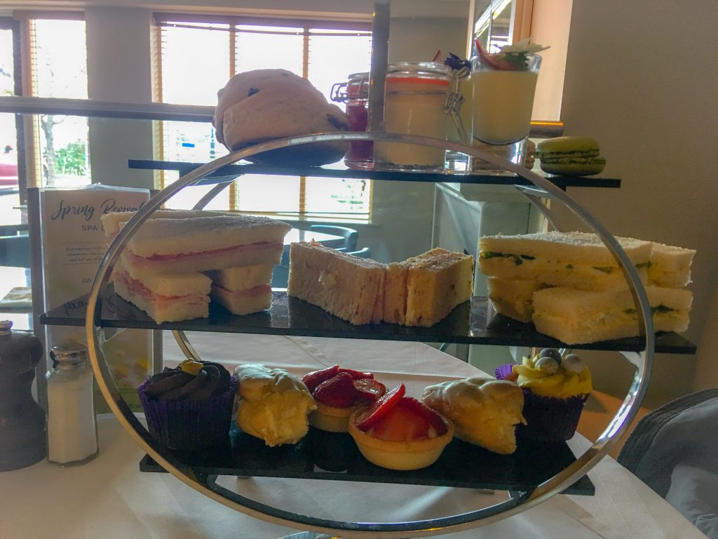 Cottons Hotel and Spa, Knutsford adult afternoon tea