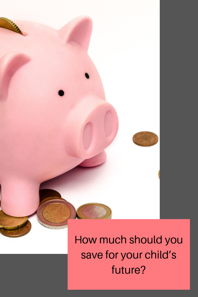 How much should you save for your child's future #money