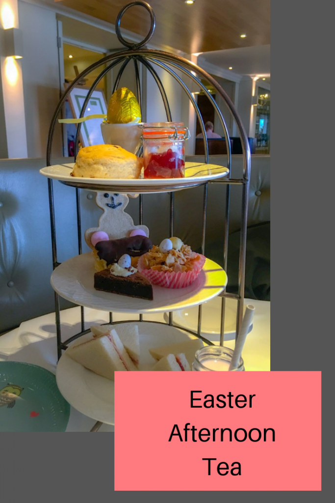 Easter afternoon tea at Cottons Hotel and Spa in Knutsford #afternoontea #cheshire