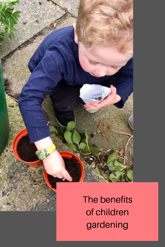 Benefits of children gardening