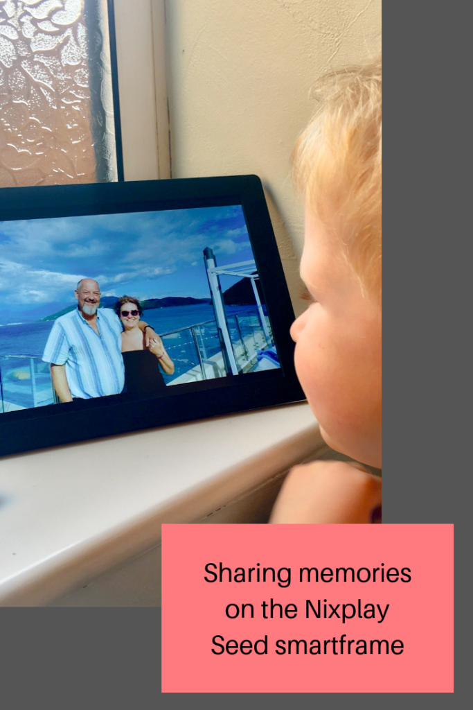 Sharing memories, photos and videos in the Nixplay Seed smart frame