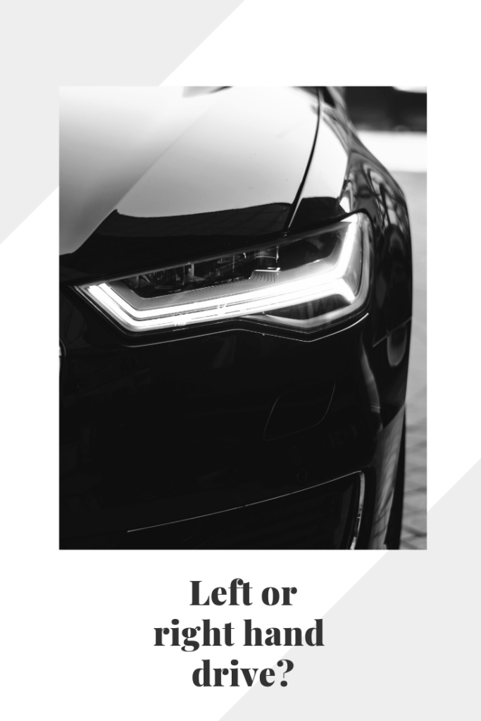 should you get a left hand or right hand drive in Europe?