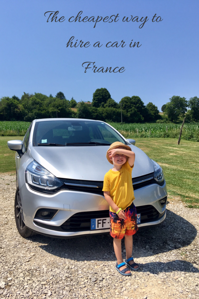 The cheapest way to hire a car in France #france #carhire