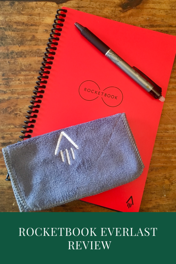 Rocketbook Everlast review, the reusable notebook