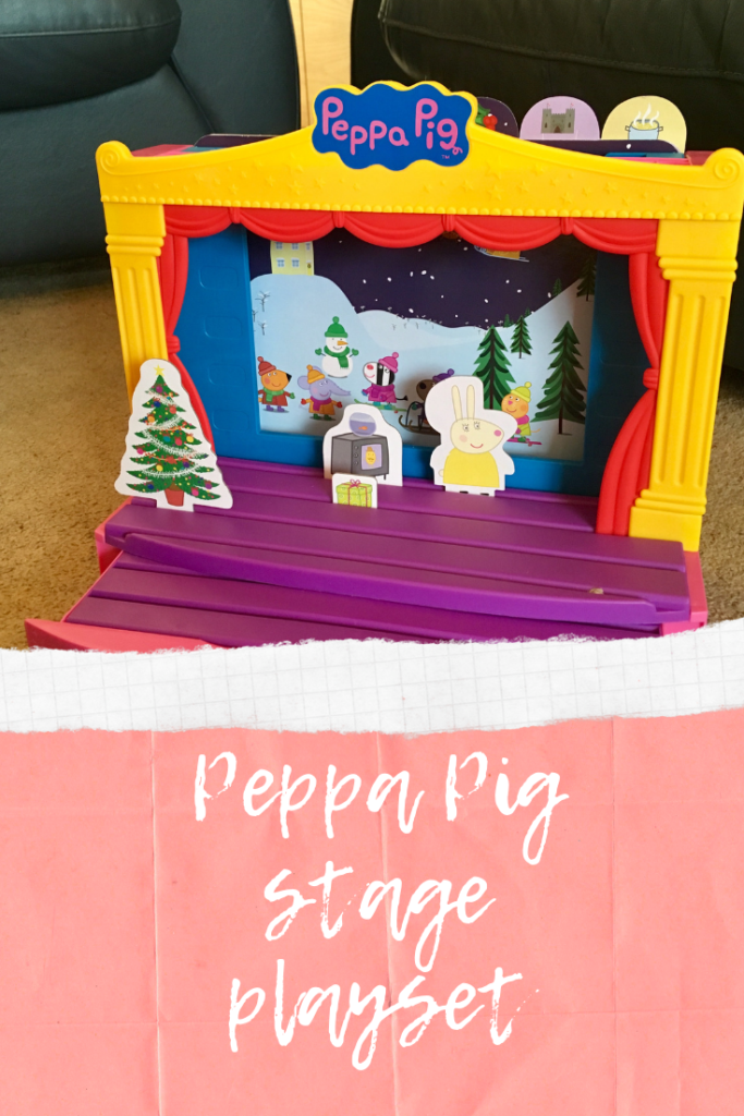 Peppa Pig stage playset review #PeppaPigStage