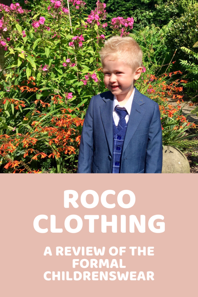 Roco clothing, the formal children's wear. We review a suit for my brothers wedding #childrenswear