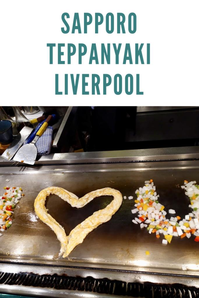 Sapporo Teppanyaki liverpool review
