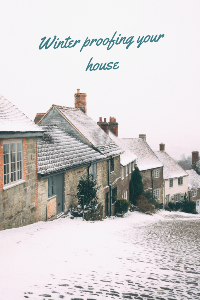 Winter proofing your house