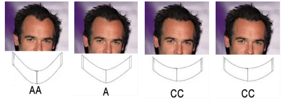 hairline shapes