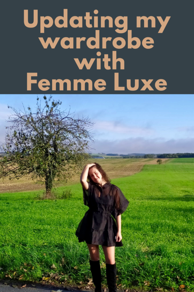Updating my wardrobe with Femme Luxe finery clothing