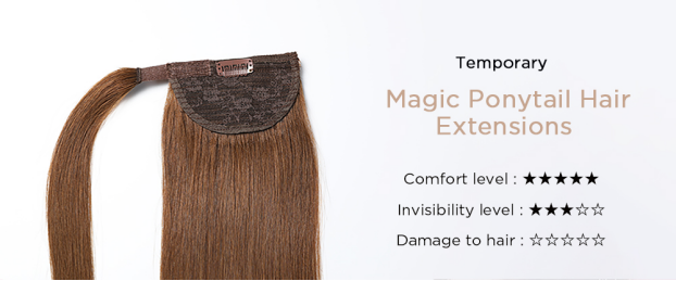 magic ponytail hair extensions