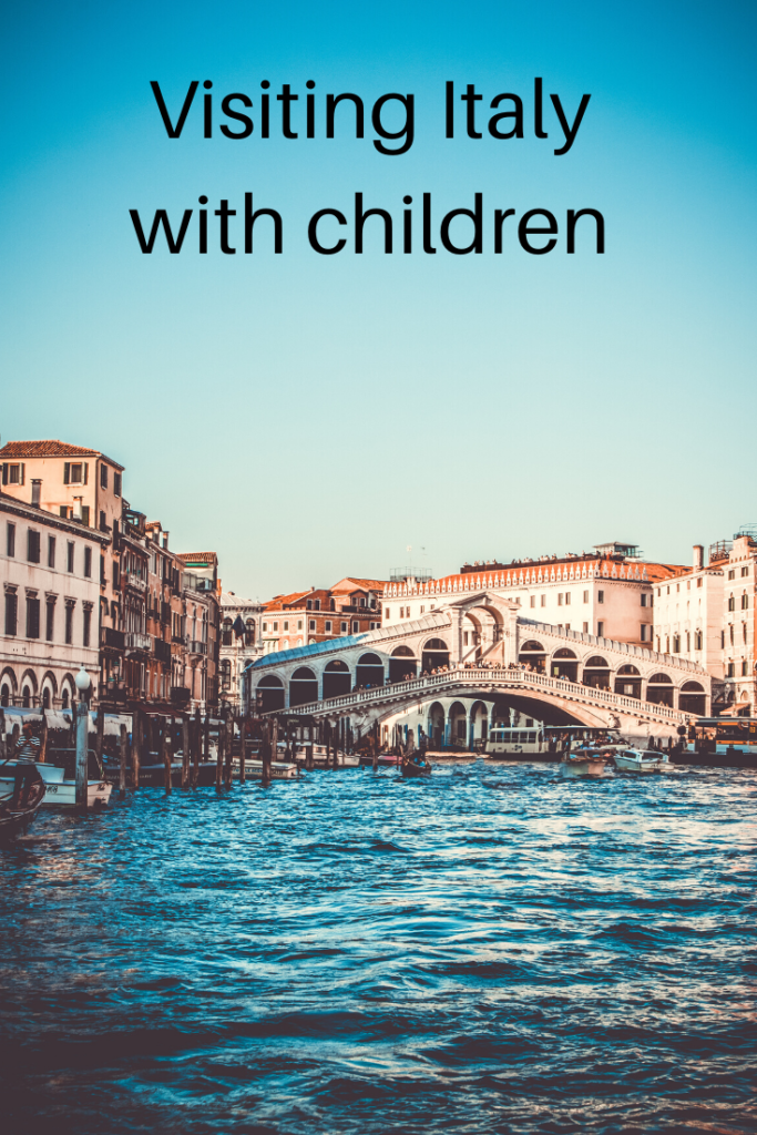 Visiting Italy with children