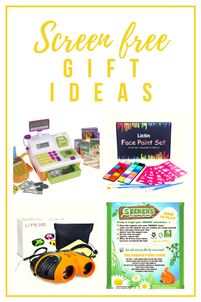 screen free gift ideas