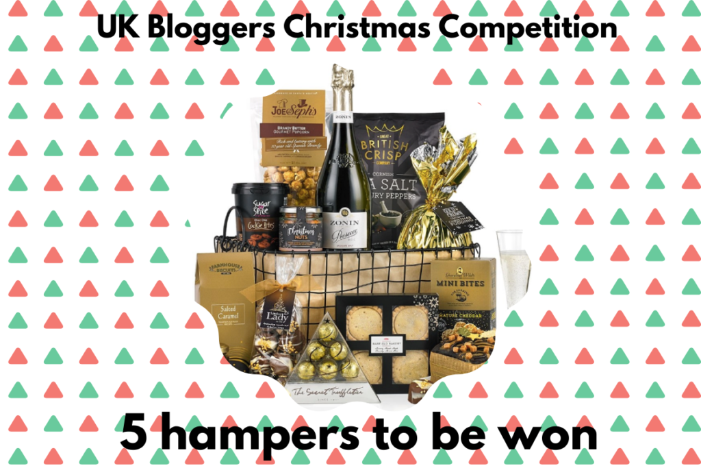 Win 1 of 5 Virginia Hayward Christmas hampers!