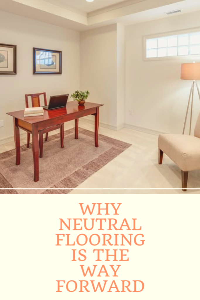 Why neutral flooring is the way forward. It looks spacious and so easy to match with all sorts of other colours, whether that's on the walls or furniture.