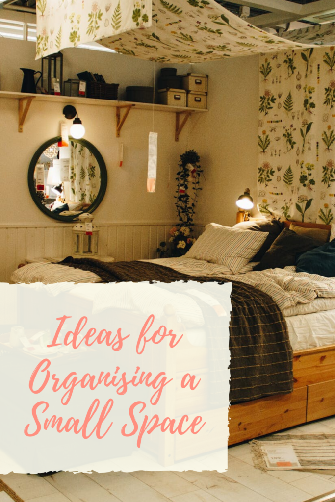 Ideas for Organising a Small Space #interiors #apartmentliving