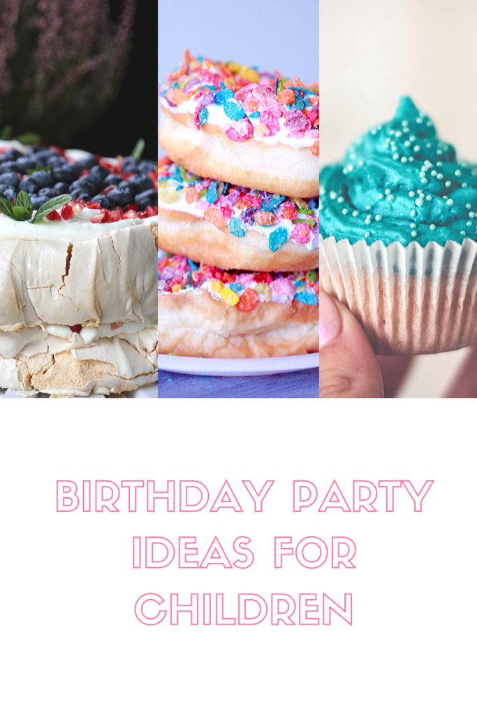 Birthday party ideas for children
