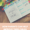 How parents can help improve their childs writing
