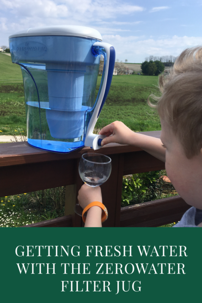 Getting fresh water with the ZeroWater filter jug