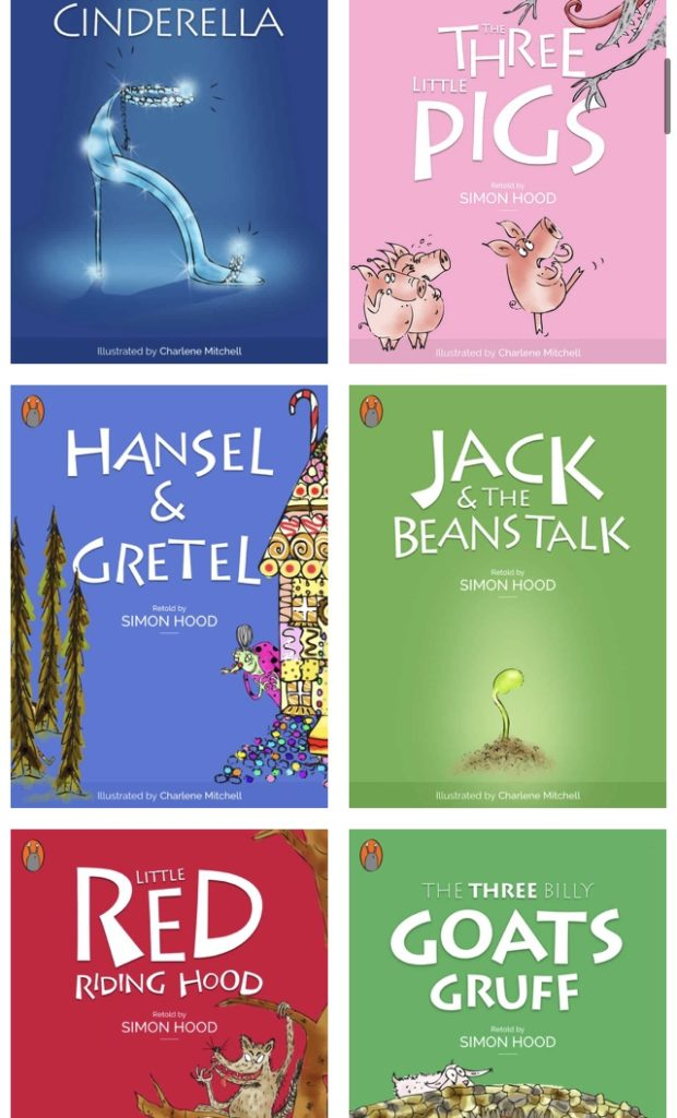 A selection of free children's stories on sooper books