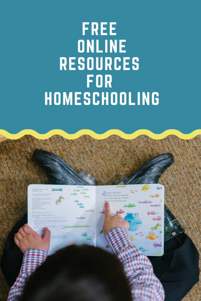 Free resources for homeschooling