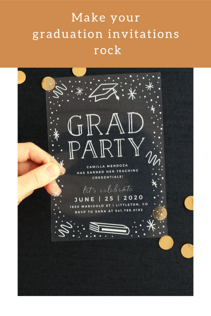 Make Your High school graduation Invitations Rock