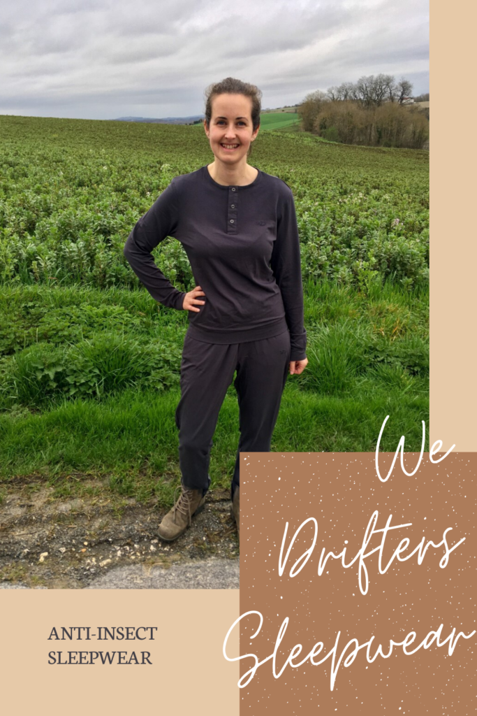 We Drifters Pyjamas. A comfy, anti static premium sleepwear from soft bamboo and anti-insect technology to keep the bugs at bay.