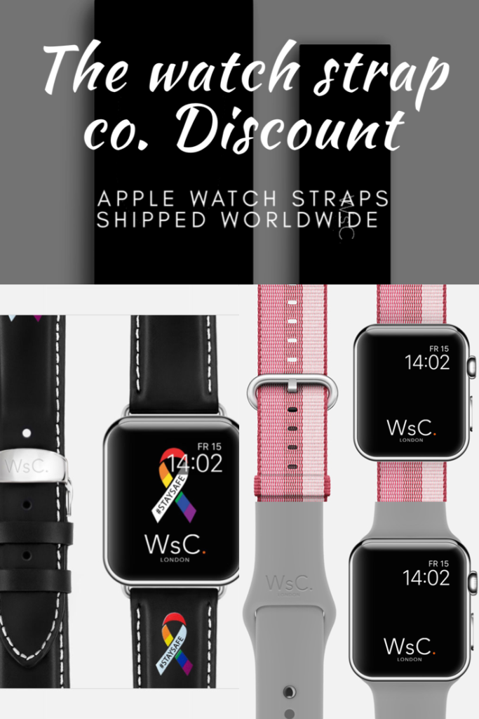 Coupon code for Apple Watch straps from the watch strap co. Shipped worldwide. They sell a huge range of straps for the Apple Watch from leather, stainless steel, woven nylon and silicone. Their latest addition is the beautiful WsC Defiant – #STAYSAFE Edition.