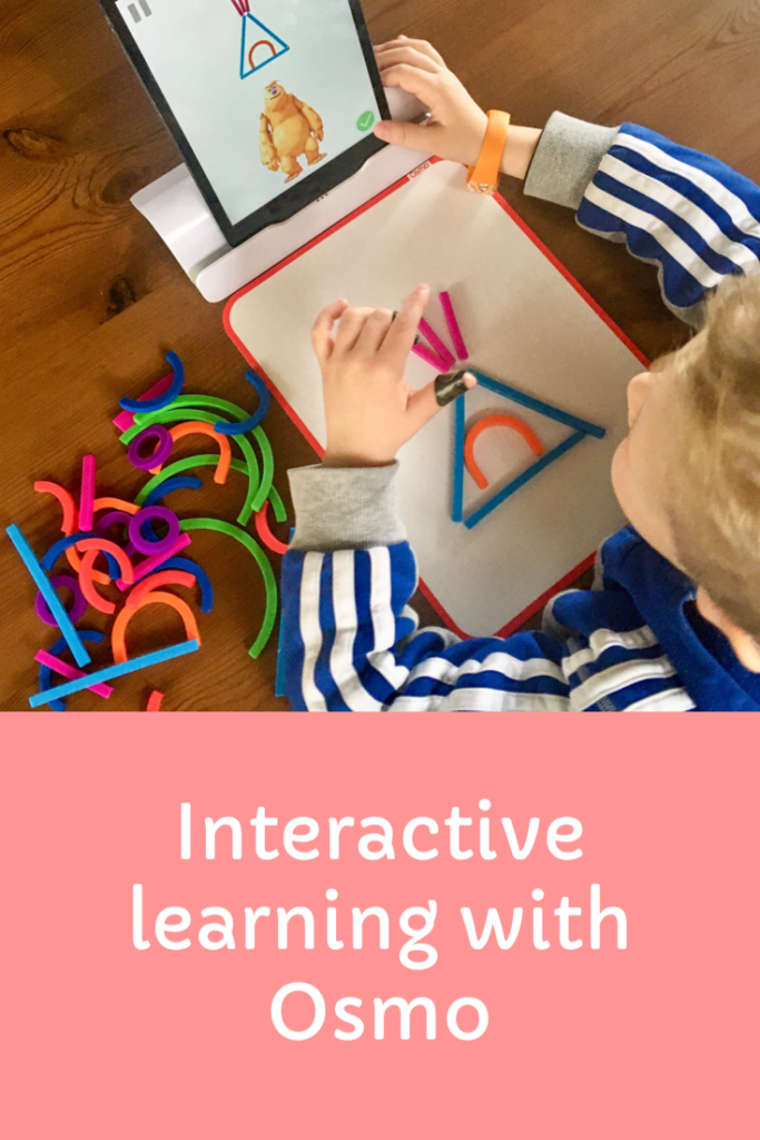 Interactive learning with Osmo. Great for preschoolers and primary aged children with various games to help spelling, maths, problem solving and creativity