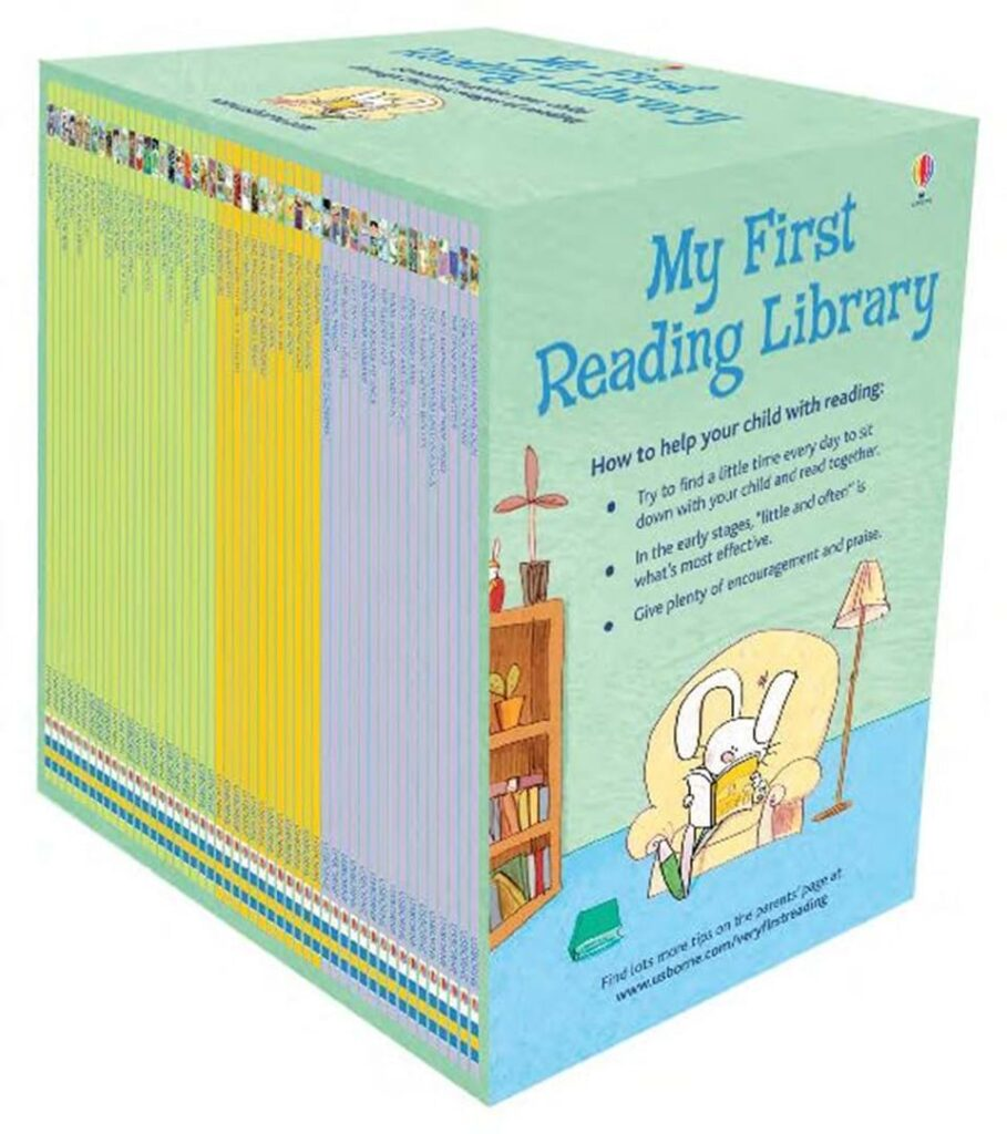 Usborne books my first reading library