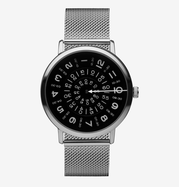 Silver men's watch
