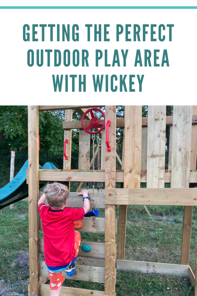 Getting the perfect outdoor play area with Wickey