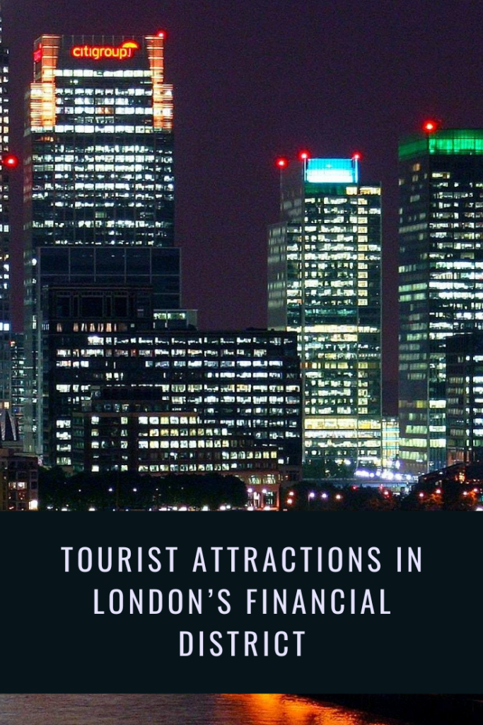 Tourist attractions in London financial district