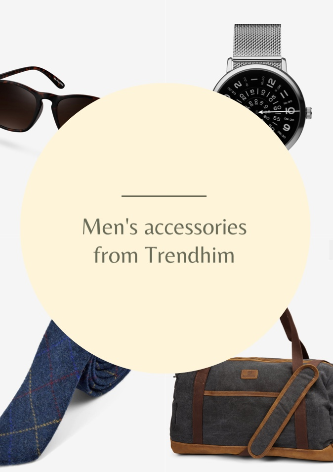 Men's accessories from Trendhim